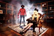 Pressefoto AURAL VAMPIRE, Album ZOLTANK, Exo-Chika, Raveman, aufgenommen in Japan, 2010