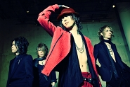 Pressefoto D'espairsRay, Album IMMORTAL, Hizumi, Karyu, Tsukasa, Zero, aufgenommen in Japan, 2010