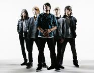 Pressefoto CROSSFAITH, Album THE DREAM THE SPACE, Koie, Teru, Hiroki, Kazuki, Tatsu, 2011
